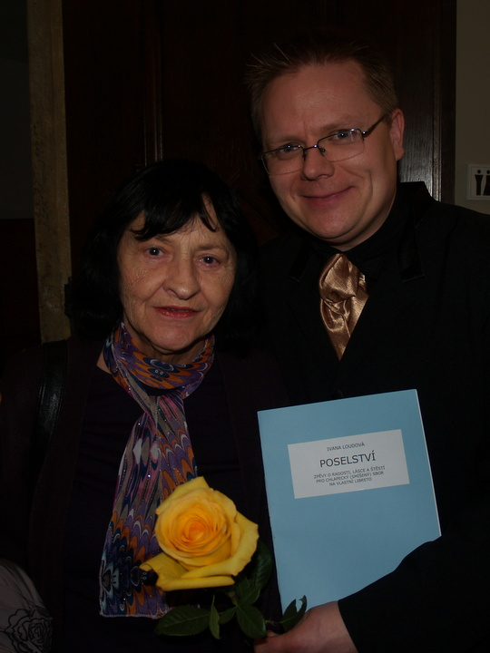 Ivana Loudová with Jakub Martinec
