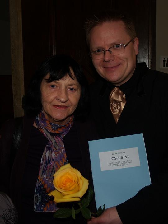 Ivana Loudová with Jakub Martinec
